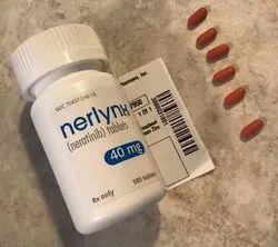 Neratinib Nerlynx 40 Mg Tablet