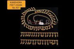 421 Kandhora Feet Chain