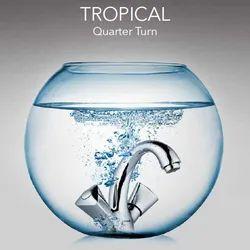 Jaquar SS Tropical Quarter Turn Taps, For Bathroom Fitting