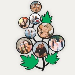 Tree  Shaped Photo Frame