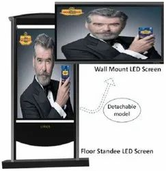 SPROS Outdoor LED Standee, Dimension: 1800 X 755 Mm