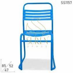 Office & Bar Blue Chair