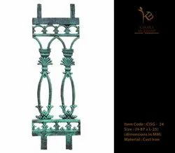 Cast Iron Staircase Grill