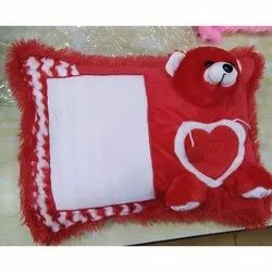Sublimation Photo Teddy Pillow