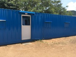 40x10x9.5ft Office with toilet container