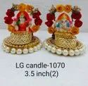 Lakshmi Ganesha T light Holder56