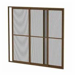 Hinged White Mosquito Mesh windows