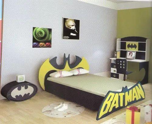 A Wooden Batman Kids Bedroom Set Rs, Kids Furniture Set