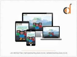 PHP/JavaScript Dynamic Responsive Web Designing Service, With 24*7 Support