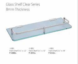 Prima Series Clear Glass Shelf