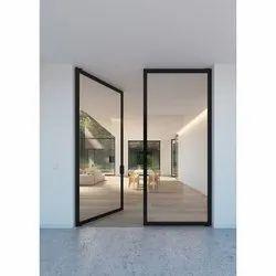 Glass,Aluminum Toughened Glass Door