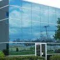 Plain Reflective Toughened Glass, Shape: Rectangle