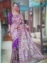 Traditional Wear Silk Saree, 6.3 M (with Blouse Piece)