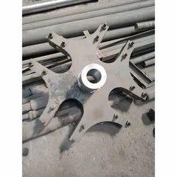 Mild Steel Roller Mill Machine Spider Blade