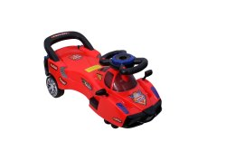 Plastic Royal Red Twist Car