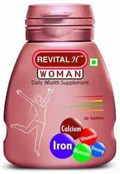 Revital H Woman, Packaging Size: Pack Of 30 Tablets