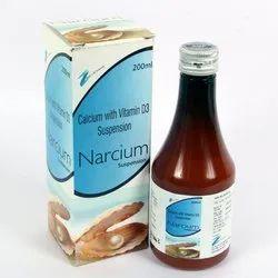 Calcium Carbonate Vitamin D3 Suspension