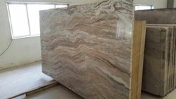 Unpolished Indian Sawar Brown Marble, Slab, Thickness: 15-20 mm