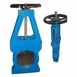 Mild Steel Medium Pressure Cast Iron Pulp Valve, For Slurry, Size: 50 Mm