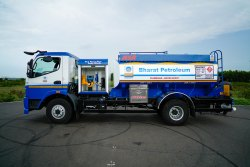 BPCL Fuel Bowser / Mobile Petrol Pump