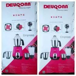 Deuronn Mixer Grinder 750 w or 1hp