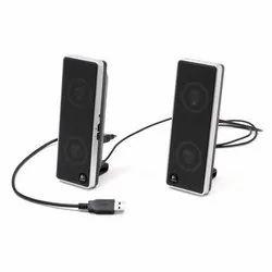 Black USB and Bluetooth Speaker