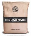 Herbs And Crops Neem Leaves Powder For Skin Care, Packaging Size: 25kg