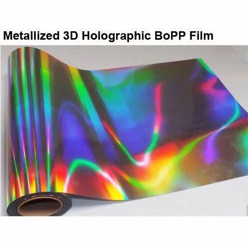 Holographic BOPP Film