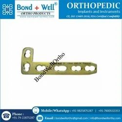 4.5 mm Orthopedic Implants L Buttress Plate