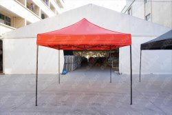 Gazebo Tent 3x3 M Red Color