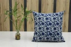 Block Printed Cushion Cover Mud Cloth Pillow Case Handmade Cotton Pillow Cover