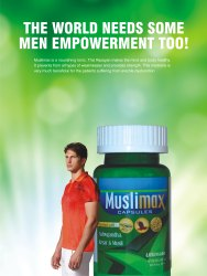 Muslimax Capsules, A&D pharma, Non prescription
