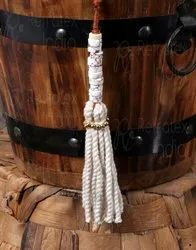 Cotton Stone Tassel
