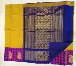 Multicolor Silk Saree