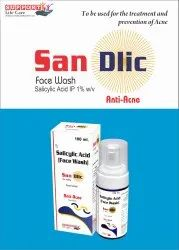 Salicylic acid IP 10mg (Foaming Face Wash)