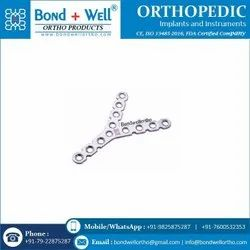 Orthopedic Y Reconstruction Plate