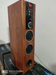 Multimedia Tower Speakers with Bluetooth & AUX