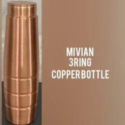 3 Ring Copper Bottle