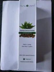 Neem +laung +aloe Vera +lodhra HERBAL DENTAL PASTE NETSURF, Packaging Size: 125Gm