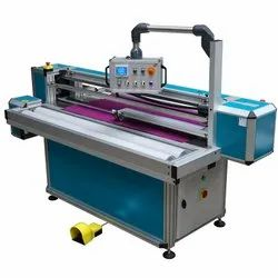 Clartech Automatic Inspection And Cut-To-Length Fabric Rewinding Machine, 9 Kw