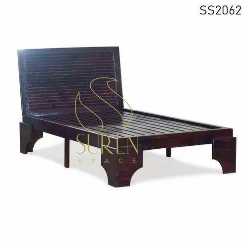 Solid Wood Furniture Design Bed Design For Resort Furniture