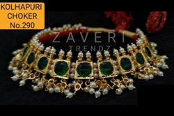 290 Kolhapuri Choker Necklace