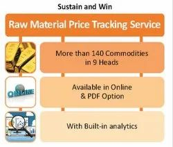Service Provider Raw Material Price Tracking