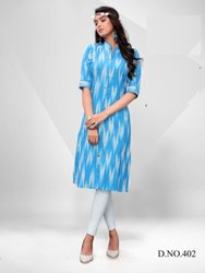 heavy cotton ladies wear kurti