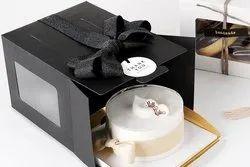 Brown Craft Cake Box