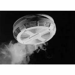 Photoelectric Plastic 24 V Smoke Detector, For Office Buildings