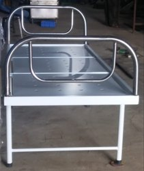 SE - 25 Simple Hospital Bed SS Bows