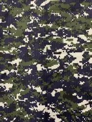Indian Navy Camouflage Ripstop fabric