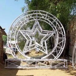 Star Shape Wedding Stage Fabrication Service