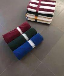 Neha Handkerchiefs Plain Terry Bath Towel, For Home